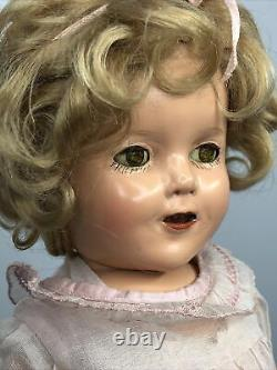13 Antique Vintage Ideal Shirley Temple Compo Doll Marked Head & Body #Mi