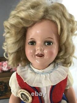 16 Composition Ideal Shirley Temple Make Up Doll