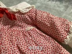16 nch Shirley Temple dress