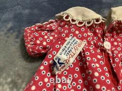 17 inch Shirley Temple tagged dress
