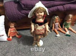 18 inch Shirley Temple Rare tagged Heidi doll