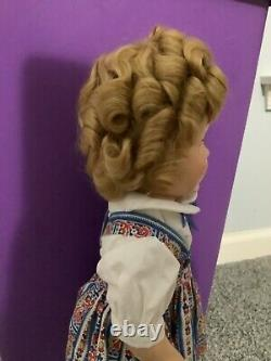 18 inch Shirley Temple doll in Hard to Find Jumper