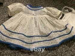 18inch Shirley Temple tagged dress with slip