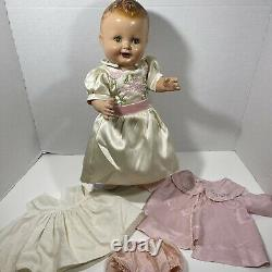 1930's Vintage Freundlich Baby Sandy German Compo Doll Shirley Temple Compete