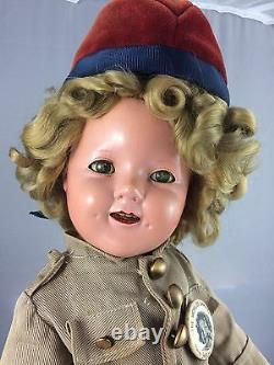 1930s Composition Ideal Shirley Temple Wee Willie Winky Tagged 18