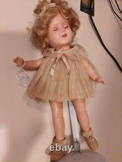 1930s Vintage 18 Shirley Temple Doll lot Picture Pin Original Dress Pin Shoes
