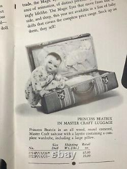 1936 RARE Vintage IDEAL TOY Dealer CATALOG Dolls Betsy Wetsy Shirley Temple