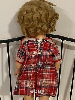 1936 Shirley Temple Doll Original Clothing Pin 22 Ideal Composition