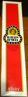 1973 Ideal 16 Shirley Temple Doll With Box NEW NICE