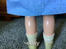 20 inch Shirley Temple tagged Stowaway dress doll