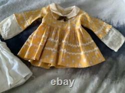 25 inch Shirley Temple Little Colonial dress and slip