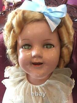 25 shirley temple composition doll