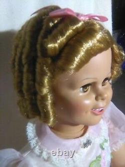 34 Shirley Temple Play Pal Doll Danbury Mint