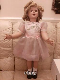 35 Inches SHIRLEY TEMPLE PLAYPAL Doll By Danbury Mint