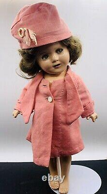 ANTIQUE 1930's IDEAL SHIRLEY TEMPLE DOLL RARE OUTFIT 13 COMPOSITION AS-IS