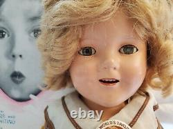 All Original 1930s Shirley Temple Doll 16 from Bright Eyes/Lollipop Beautiful