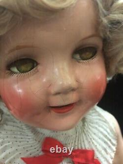 All Original 27Composition Shirley Temple Doll In Original Box
