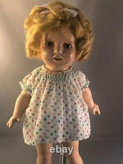 All Original Ideal Shirley Temple Doll, 1930's