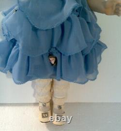 Danbury Mint SHIRLEY TEMPLE Southern Belle DOLL 14 Porcelain Doll MIB Replica