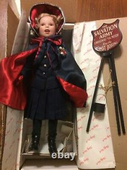 Danbury Mint Shirley Temple Porcelain Doll Good Samaritan Salvation Army