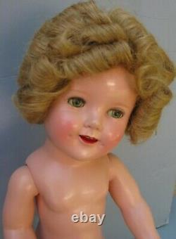 Gorgeous Shirley Temple with original Scotty Dress and tagged human hair wig
