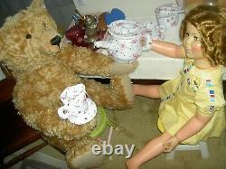 Gorgeous orig. 1959 Ideal sgnd. 35 PlayPal size Shirley Temple doll, twist wrist