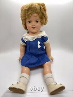IDEAL 1930s Shirley Temple 18 Composition Doll