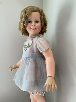 IDEAL PLAYPAL SHIRLEY TEMPLE BEAUTIFUL AS IS 1950s
