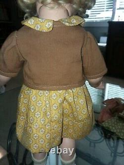 Ideal 18 Shirley Temple composition Our Little Girl bolero doll OUTFIT ONLY