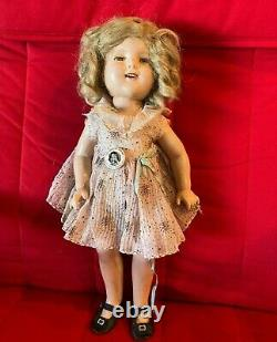 Ideal 1930s Shirley Temple Doll