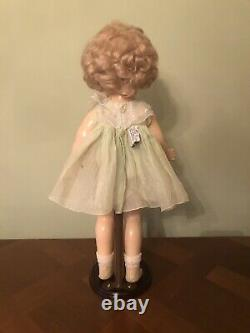 Ideal Shirley Temple Composition Doll 18