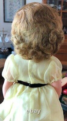 Ideal Shirley Temple Doll 17 Vinyl 1950s