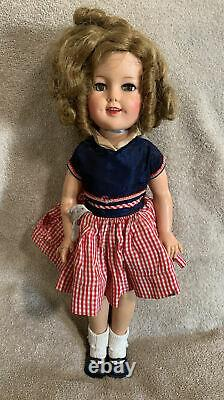 Ideal shirley temple doll ST-17 Vintage! With Original Clothes, Collectible