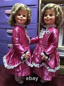 Miss Little Colonel Shirly Temple 36 LIFE SIZE Dreams & Love 50th Anniversary