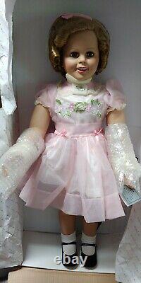 New In Box Patti PlayPal Shirley Temple Doll 34 by Danbury Mint Lovee