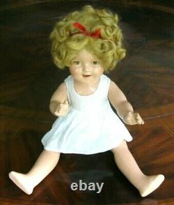 Original 1935 Ideal 22 Shirley Temple Doll withOriginal Stand Up And Cheer Dress