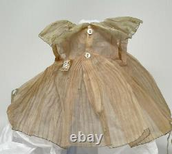 Original Dress For 20 1930's Ideal Shirley Temple Doll, NRA Tag, Size Tag, Nice