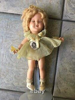 RARE 1930s Shirley Temple Composition Doll