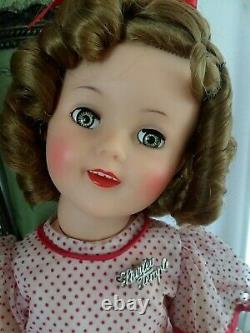 RARE 19 WALKER Ideal Shirley Temple Doll 1959 only production year