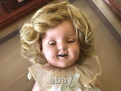 Rare Vintage 1934 Ideal Genuine Shirley Temple Composition Doll 18