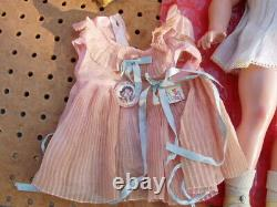 SHIRLEY TEMPLE 18 IDEAL COMPOSTITION DOLL with ORIGINAL BOX + 1 ORIGINAL DRESS