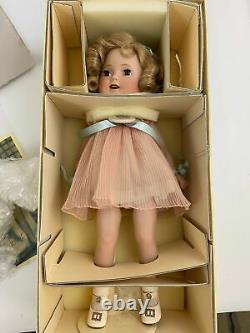 SHIRLEY TEMPLE 1930'S Curly Top Reproduction DANBURY MINT DOLL with BOX 14
