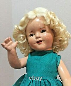 SHIRLEY TEMPLE 1930s 16 Compo Doll