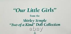 SHIRLEY TEMPLE Our Little Girls The Two Of A Kind Collection By Danbury Mint