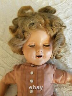 Shirley Temple 17 inch doll circa 1930s by Ideal