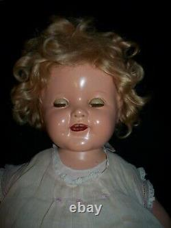 Shirley Temple 20 Baby Doll Flirty Eyes, Original Tagged Dress, Ideal 1930's