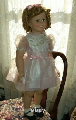 Shirley Temple 35 Doll Original Dress Play Pal Companion 1984 Danbury Mint