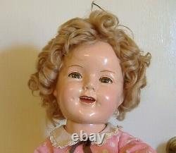 Shirley Temple Composition Doll 27