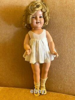 Shirley Temple Doll 1930s Composition 18 All Original