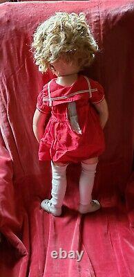 Shirley Temple Doll 27 Tall Vintage Rare